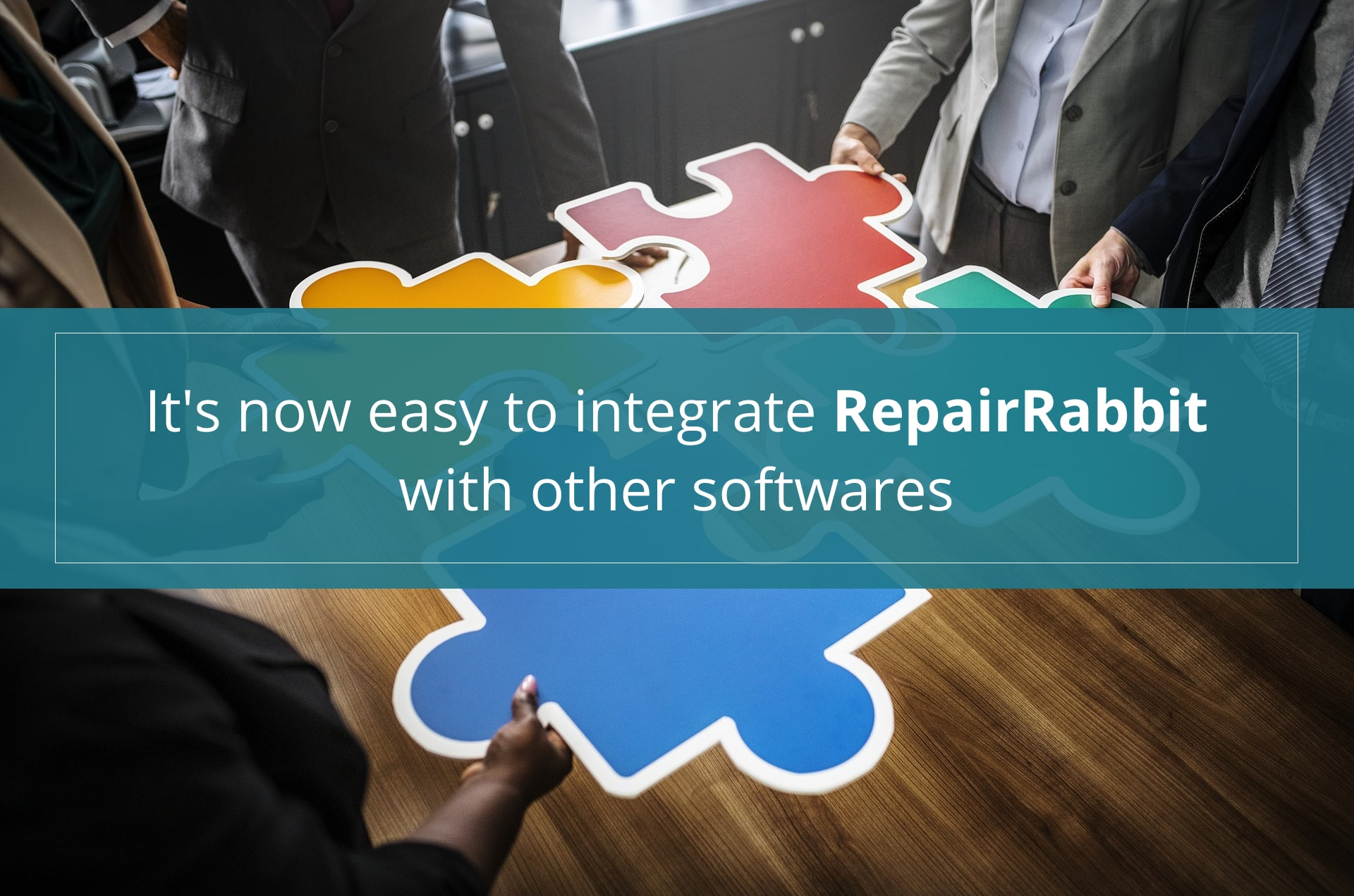 It's now easy to integrate RepairRabbit with other softwares
